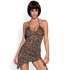 Сексуальное леопардовое платье, S/M (12127), zoom
