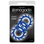 Набор из эрекционных колец RENEGADE GEARS, синий