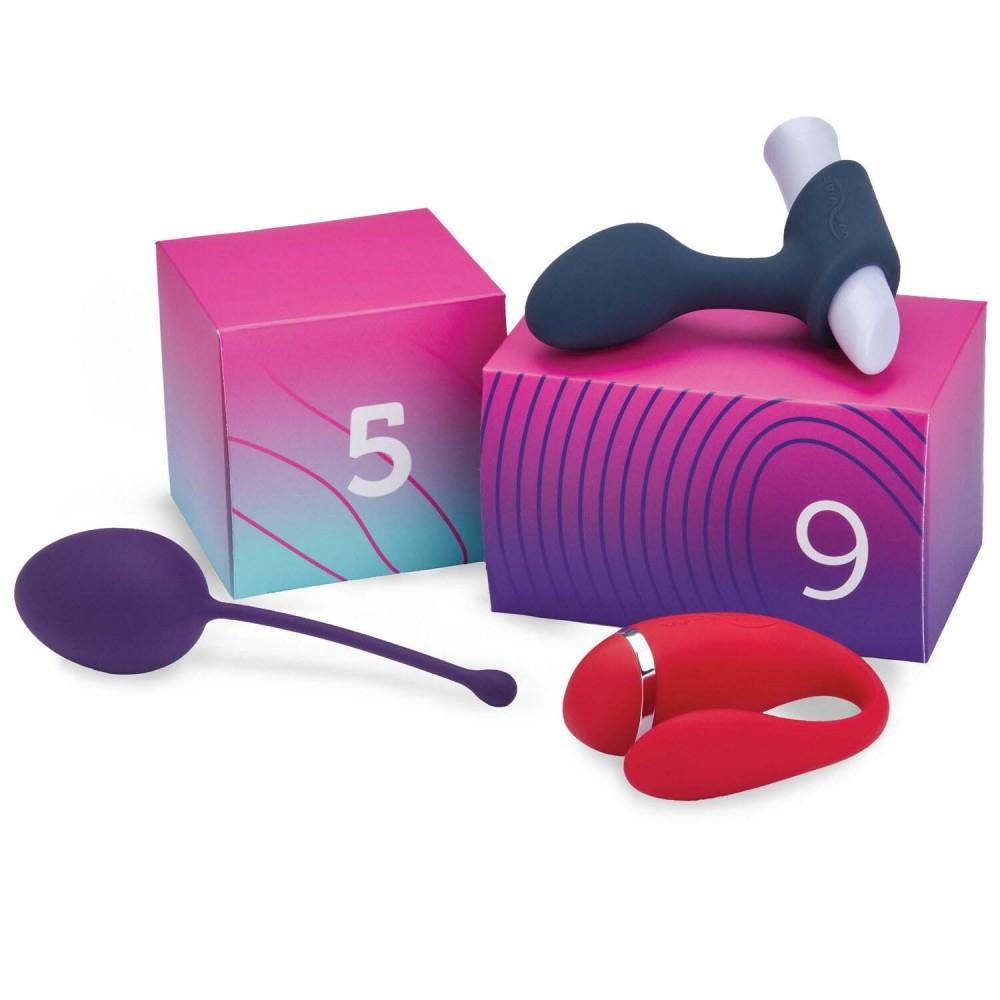 Набор секс-игрушек 10 шт We-Vibe (Вивайб) Discover 10 Sex Toy Gift Box , фото 3