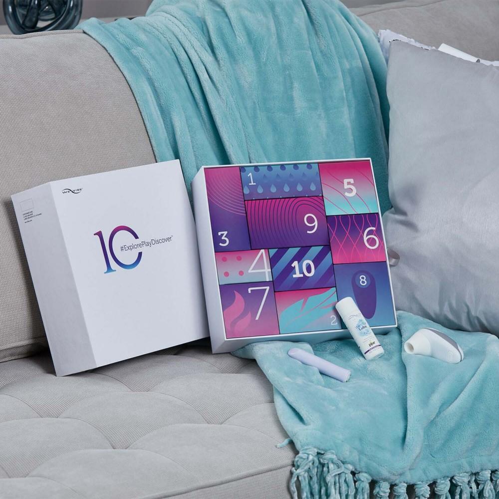 Набор секс-игрушек 10 шт We-Vibe (Вивайб) Discover 10 Sex Toy Gift Box , фото 11