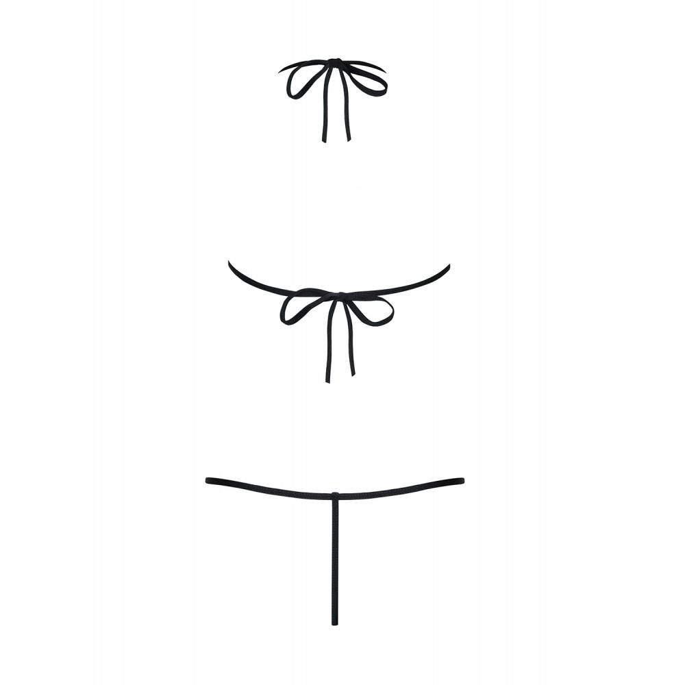 Сексуальное боди с кружевами в области груди, S/M - No Taboo