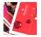 Сексуальні стрінги з декоративним прикраса ззаду, червоні S / M (9505)