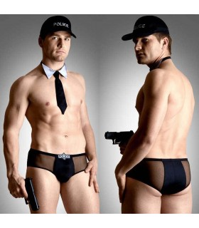 Комплект Policeman XL BLACK - No Taboo