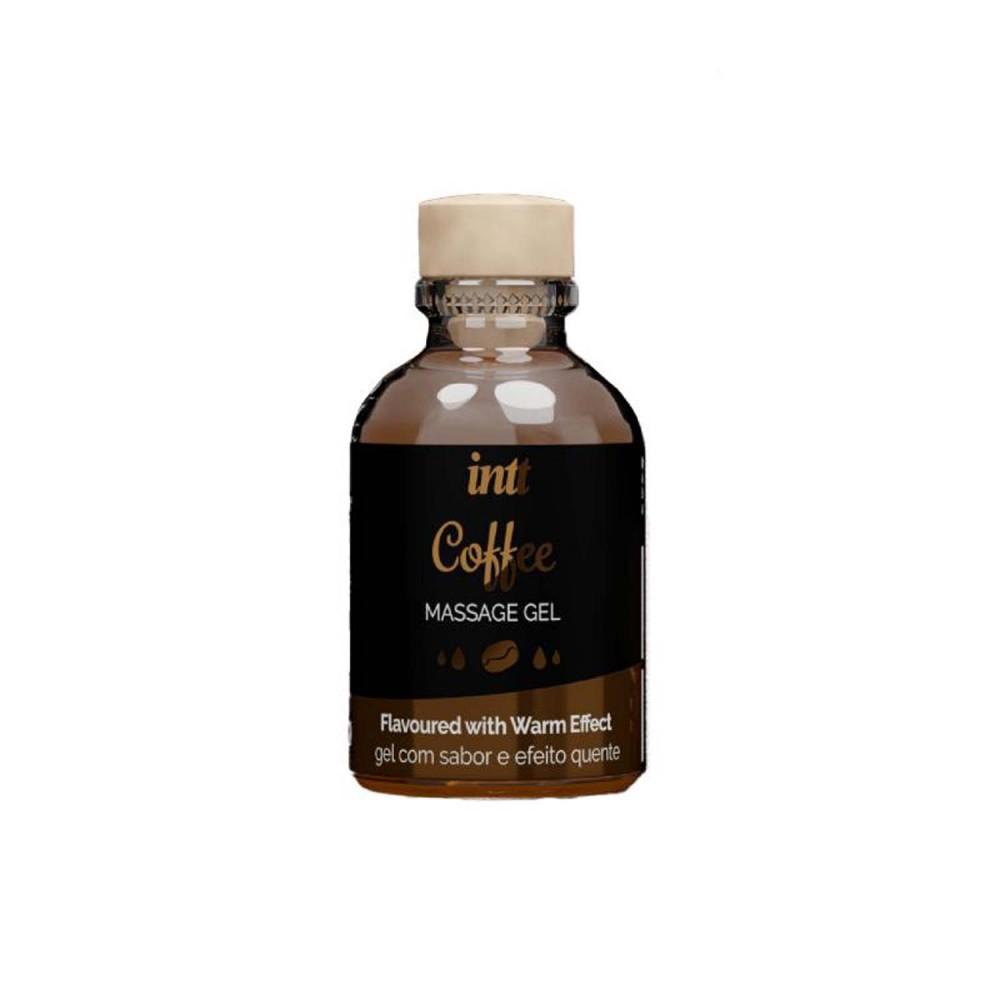 Массажный гель с согревающим эффектом для поцелуев со вкусом Coffee Intt 30 мл (36728), фото 1 — секс шоп Украина, NO TABOO