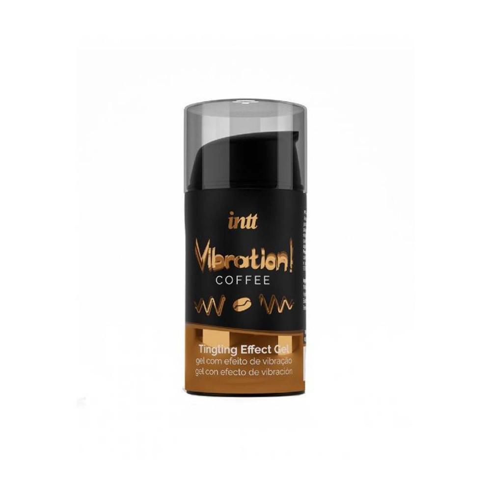 Жидкий вибратор для двоих Intt Vibration со вкусом Coffee, 15 мл (36726), фото 1