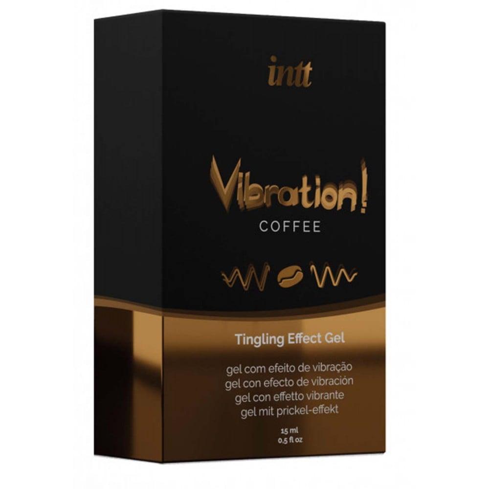 Жидкий вибратор для двоих Intt Vibration со вкусом Coffee, 15 мл (36726)