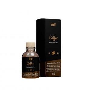 Масажний гель з зігріваючим ефектом для поцілунків зі смаком Coffee Intt 30 мл - No Taboo