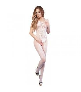 Kомбинезон белый с тонкими шлейками S/L Rosalia - No Taboo