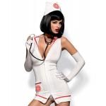 Ролевой костюм медсестры 4 предмета, S/M