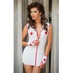 Сукня медсестри SoftLine з рукавичками, розмір M/L