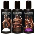 Набір масажних масел-Magoon Massage-le Set, 3 флакони по 50 мл