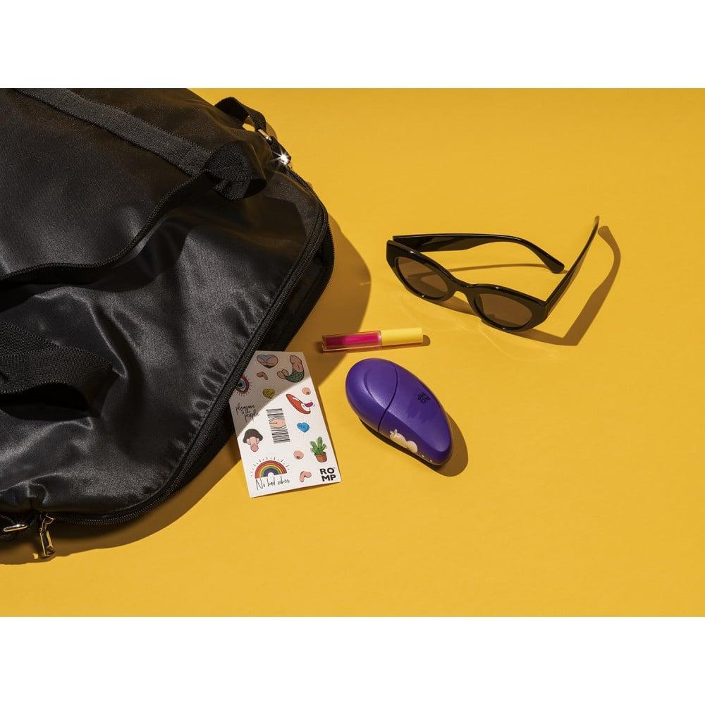 Клиторальный стимулятор Romp Free, фиолетовый (39145), фото 10 — секс шоп Украина, NO TABOO