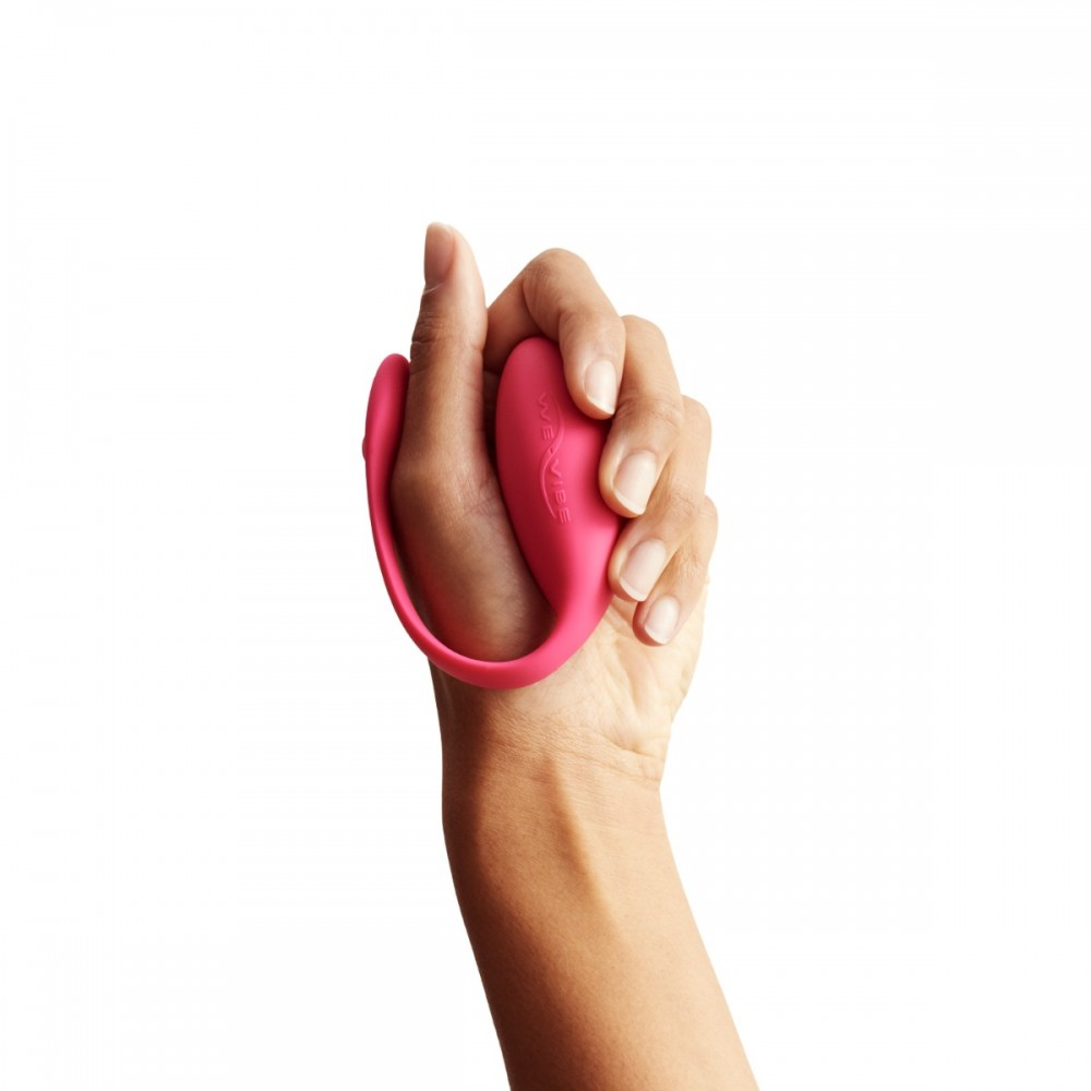 Виброяйцо We-Vibe Jive с управлением с телефона, розовое (39930), фото 4 — секс шоп Украина, NO TABOO