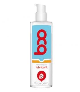 Лубрикант на водной основе с ароматом клубники ВОО , 150 мл - No Taboo