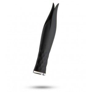 Вибратор для клитора Odeco черный, 14 см (42162), zoom