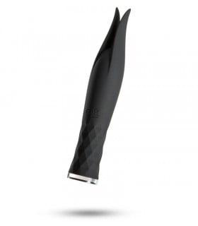 Вибратор для клитора Odeco черный, 14 см - No Taboo