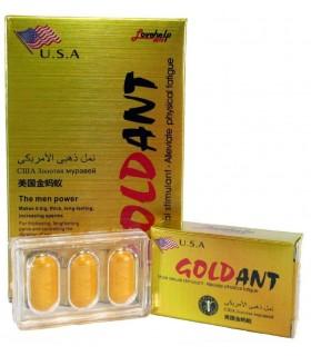 Золотой Муравей Golden Ant 3шт таблетки для потенции - No Taboo