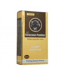 Спрей для продления полового акта (пролонгатор) Strong Ferocious Panther DELAY Spray for man 10 ml - No Taboo