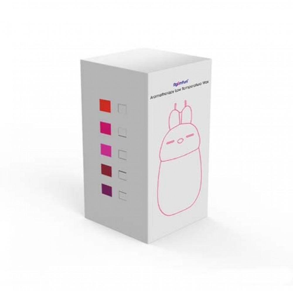 Свічка зайчик низькотемпературна з ароматом шоколаду Roomfun (31251)