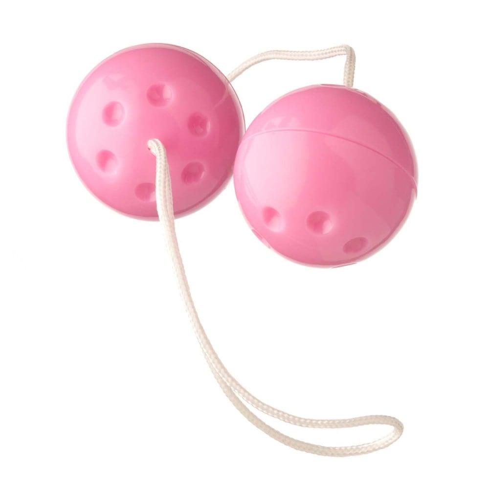 Вагинальные шарики розовые YAM BALLS (31971), фото 1