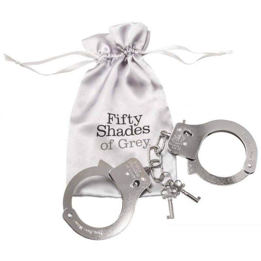 Fifty Shades of Grey - Металлические наручники (50 оттенков серого) (5399)