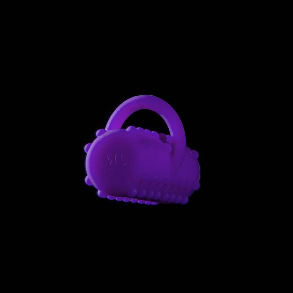 Вибропуля на палец ML Creation (My Love) Power Finger, фиолетовый - No Taboo