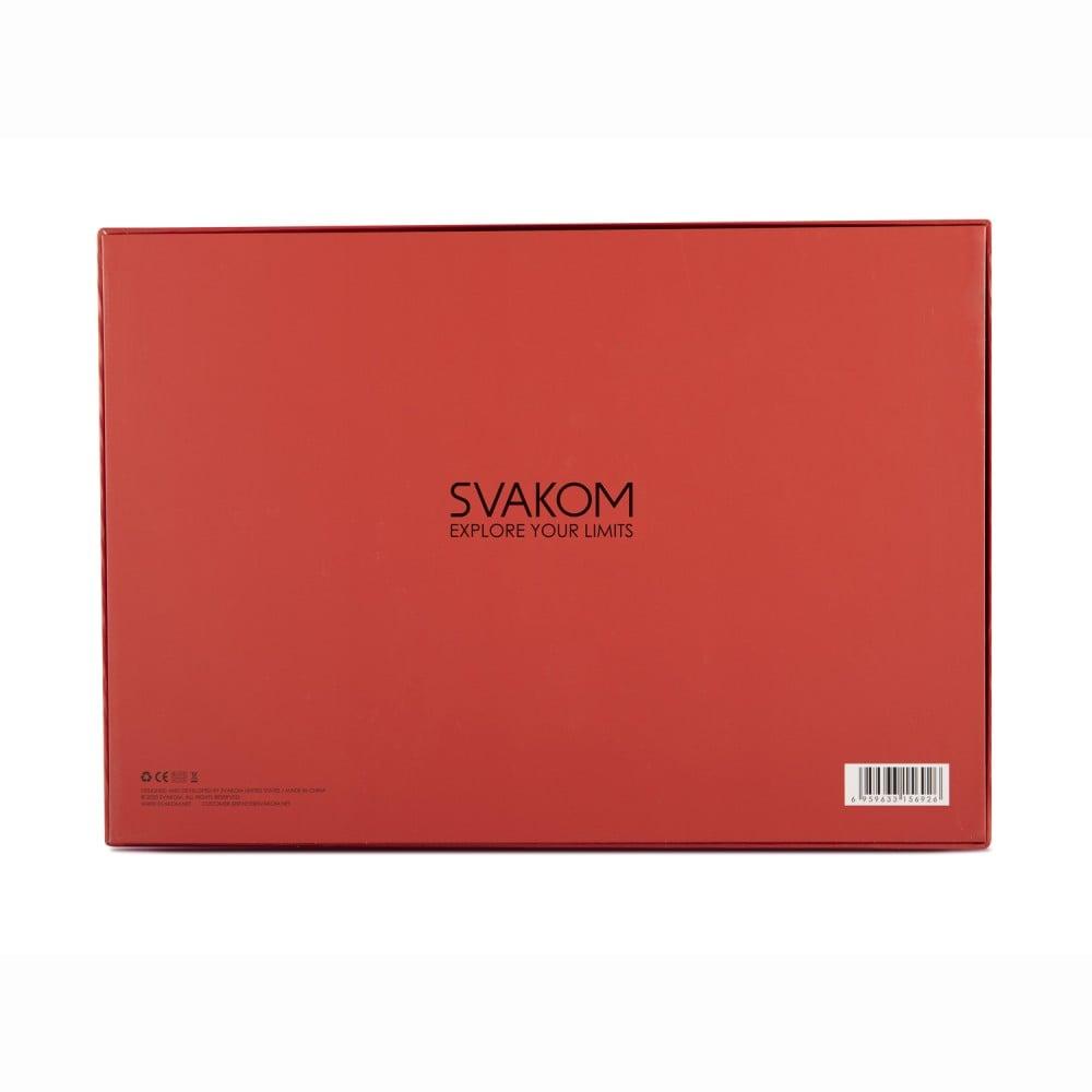 Лимитированный подарочный набор Svakom, с интерактивным виброяйцом и БДСМ набором (39305), фото 4