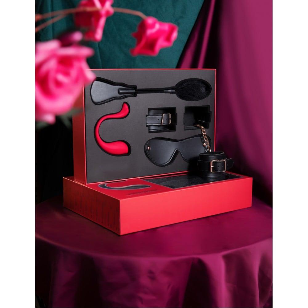 Лимитированный подарочный набор Svakom, с интерактивным виброяйцом и БДСМ набором (39305), фото 5