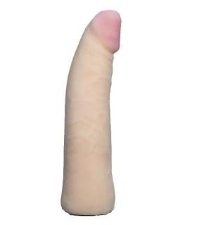 Насадка на страпон, из киберкожи EGZO 18 х 3,8 см, Vac-U-Lock - No Taboo