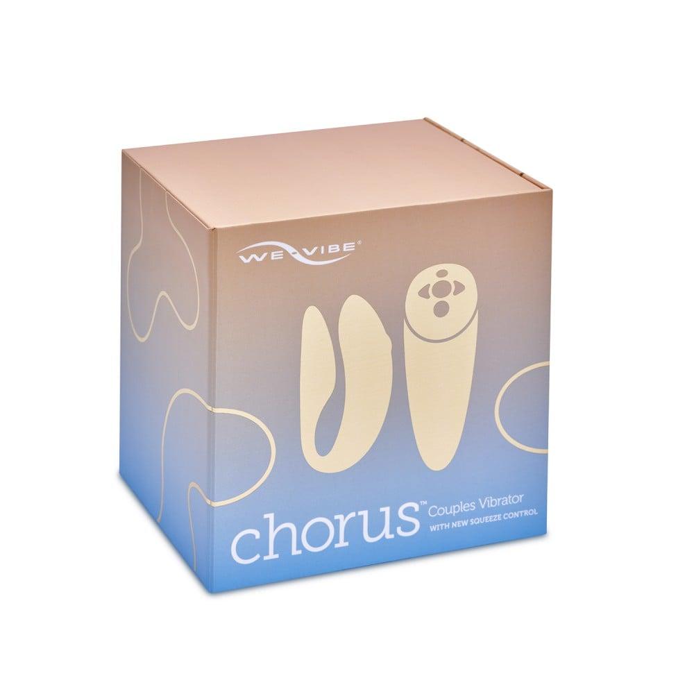 Вибратор для пар We-Vibe (Вивайб) Chorus голубой (37603)