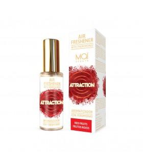 Спрей для воздуха, с феромонами и ароматом красных фруктов Attractain 30 мл - No Taboo