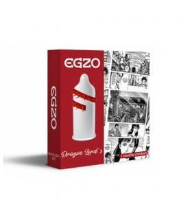 Презерватив-насадка EGZO Cocky Friend Red CF08
