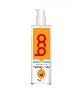 Лубрикант-массажный гель на водной основе BOO 2 в1 MASSAGE-LUBE, 150 мл - No Taboo