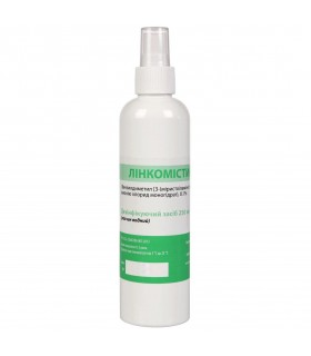 Антисептик-очиститель для игрушек Линкомистин водный, 250 мл - No Taboo