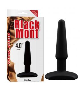 Анальный плаг силиконовый Black Mont - No Taboo