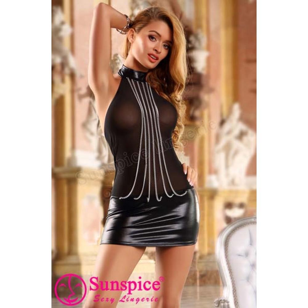 Платье Прозрачное (One size) (33597)