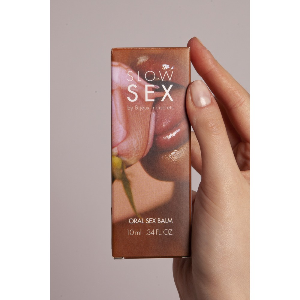 Бальзам для орального секса ORAL SEX BALM Slow Sex Bijoux Indiscrets, фото 8