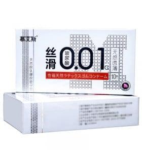 Презервативы латексные ультратонкие 0.01 мм 10 шт, цена за упаковку - No Taboo