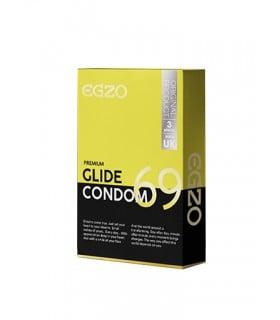 Презервативы в обильной смазке EGZO Glide №3