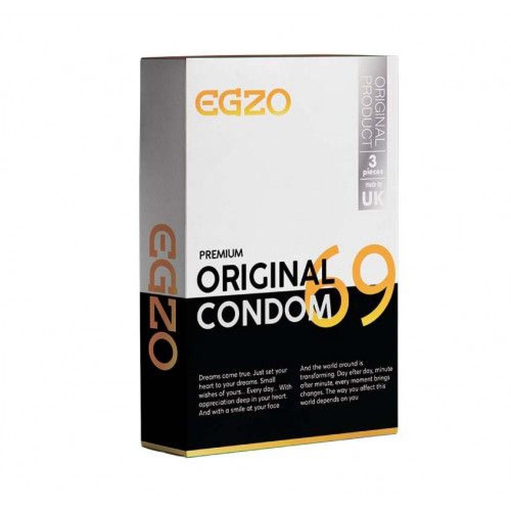 Плотнооблегающие презервативы EGZO Original №3 (32460)