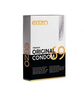 Плотнооблегающие презервативы EGZO Original №3