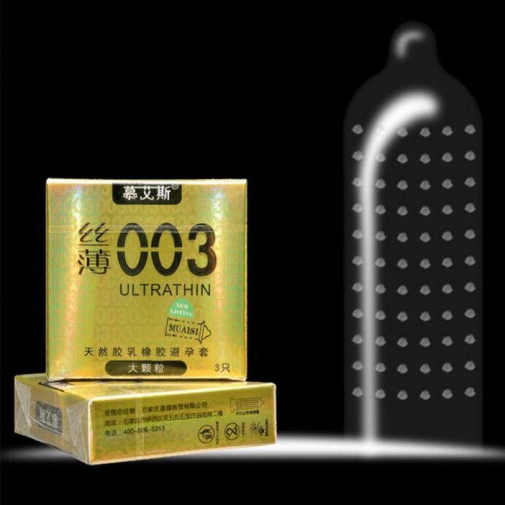 Презервативы латексные ультратонкие 0,03 мм 3шт, цена за упаковку (29991), фото 5