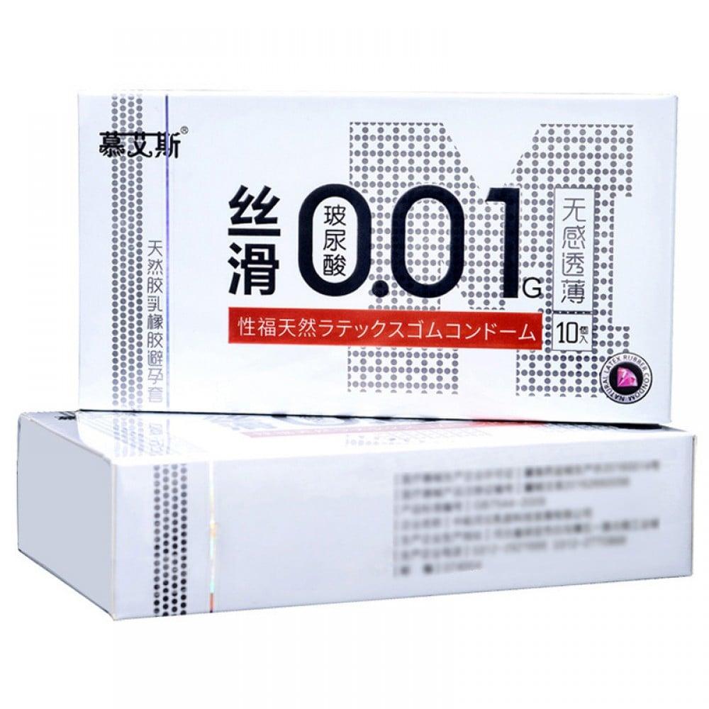 Презервативы латексные ультратонкие 0.01 мм 10 шт, цена за упаковку (32622), фото 1