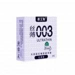 Презервативи Латексні ультратонкі 0,03 мм 3шт, Ціна за упаковку