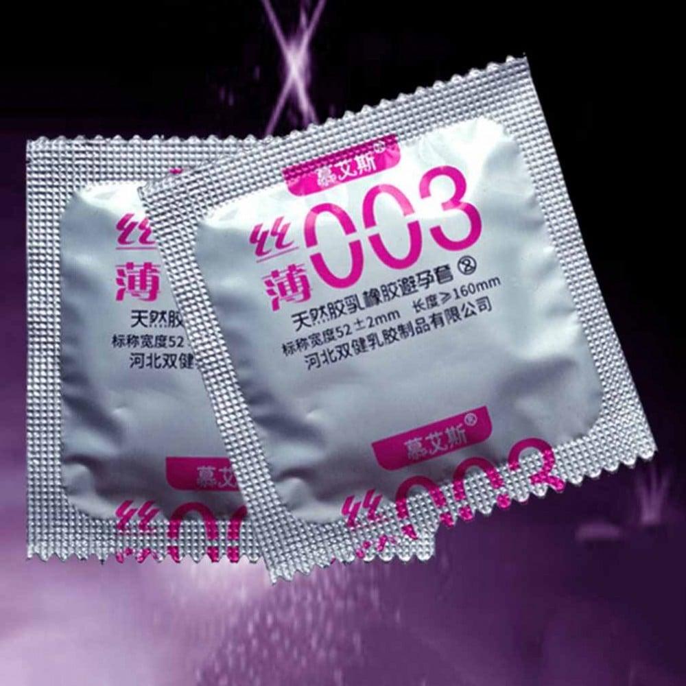 Презервативы латексные ультратонкие 0,03 мм 3шт, цена за упаковку (29991), фото 4