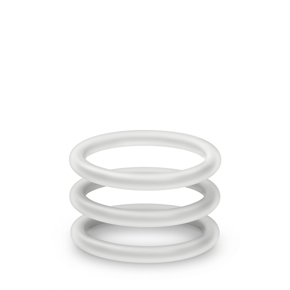 Набор эрекционных колец, светящихся в темноте, 3 шт (33713)