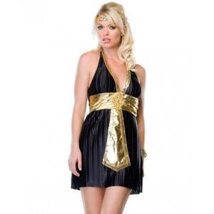 Костюм богині Нілу плаття, чорне, S / M (8162), zoom