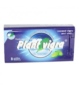 Таблетки мужские для потенции Plant Viagra, 8 шт - No Taboo
