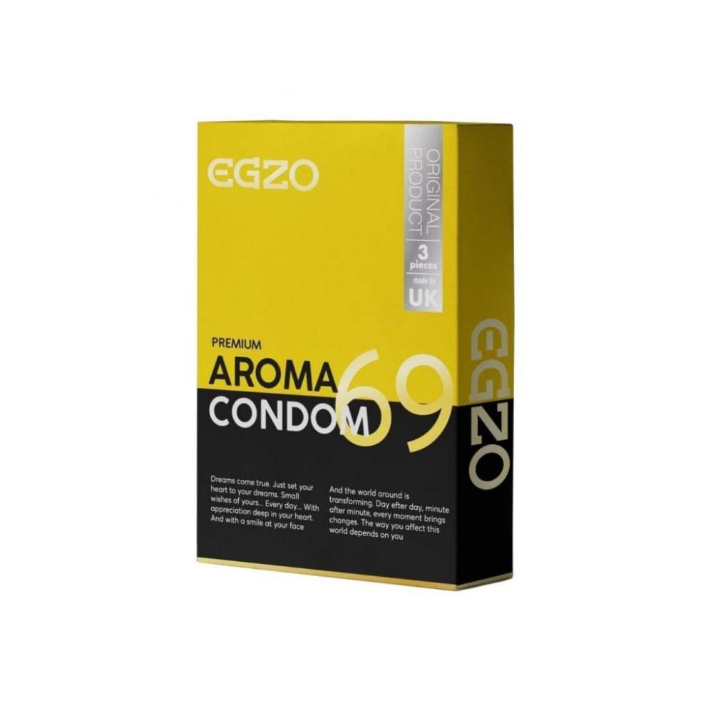Ароматизовані презервативи EGZO aroma №3 (32461)