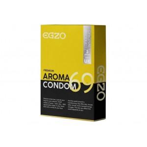 Ароматизовані презервативи EGZO aroma №3 (32461), zoom
